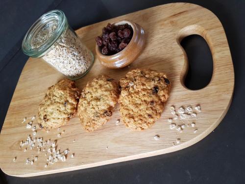 Cookies avoine raisins